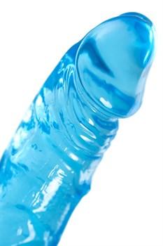 Голубой реалистичный фаллоимитатор Indy - 15,8 см.