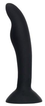 Черная анальная втулка Stroft - 10,5 см.