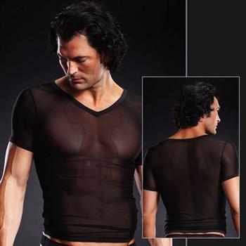 Сетчатая футболка