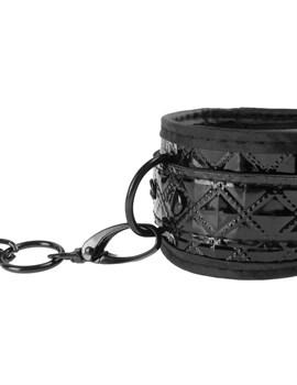 Чёрные наручники COUTURE CUFFS