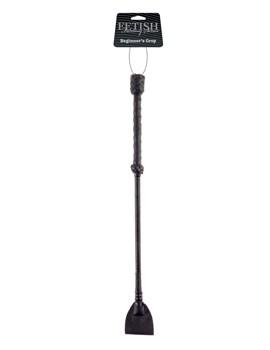 Чёрный стек-хлопушка Beginners Crop - 43,5 см.