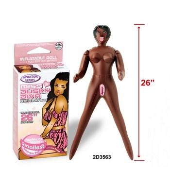 Надувная мини-кукла для фаллостимуляции