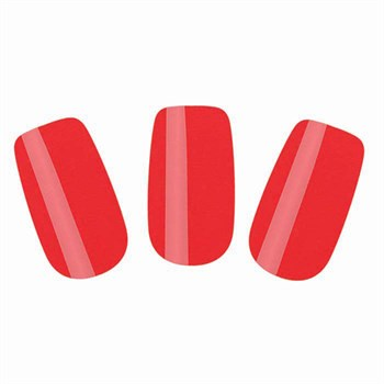 Набор лаковых полосок для ногтей Красный шик Nail Foil