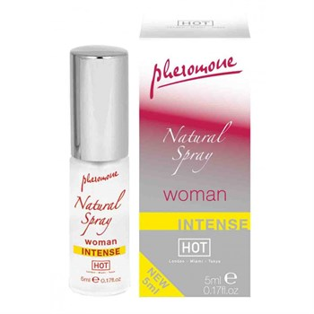 Женский спрей с феромонами Natural Spray Intense - 5 мл.