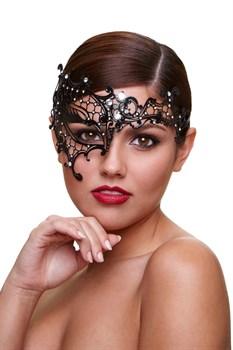 Маска со стразами Mask Seductress