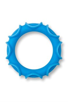 Голубое эрекционное кольцо E-Ring II