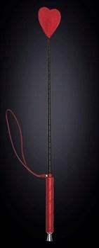 Стек с красным наконечником-сердечком - 70 см.