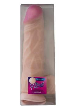 Гигантский дилдо-реалистик на присоске - 29 см.
