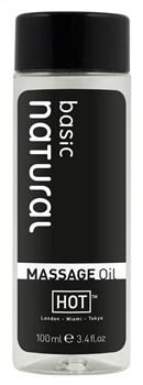 Массажное масло для тела Natural Basic - 100 мл.