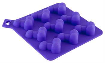 Формочка для льда фиолетового цвета