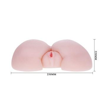 Вибрирующий мастурбатор-попка с ротацией и пультом управления