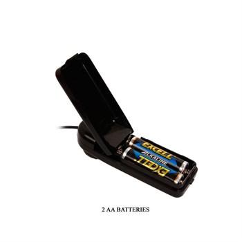 Многоскоростной вибратор-ротатор с пультом управления - 17,5 см.