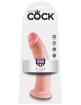 Телесный фаллоимитатор 9  Cock - 22,9 см.