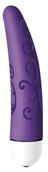 Фиолетовый мини-вибратор Velvet Comfort - 11,9 см.
