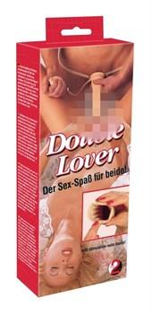Насадка-фаллопротез Double Lover - 20 см.