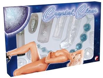 Набор стимуляторов для секс-игр Crystal Clear