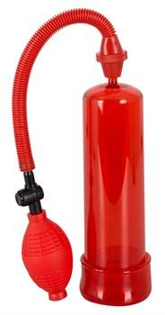 Красная вакуумная помпа BANG BANG