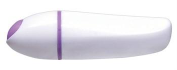 Фиолетовая анальная вибровтулка Smile - 10 см.