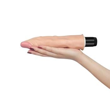 Гнущийся в стороны вибратор-реалистик FLEXI - 24 см.
