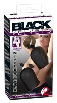 Помпы для сосков BLACK VELVETS