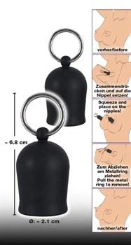 Помпы для сосков Black Velvets Nipple Suckers