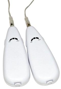 Телесный женский страпон с вагинальной пробкой Strap-On Duo - 15 см.