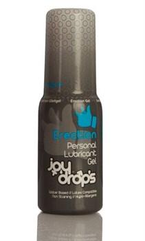 Возбуждающая мужская смазка JoyDrops Erection - 50 мл.