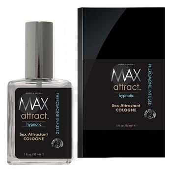 Свежий мужской аромат с феромонами MAX Attract Hypnotic - 30 мл.