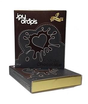 Возбуждающий шоколад для мужчин JoyDrops, 24 гр