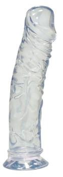 Прозрачный фаллоимитатор Medium Dong - 19,5 см.