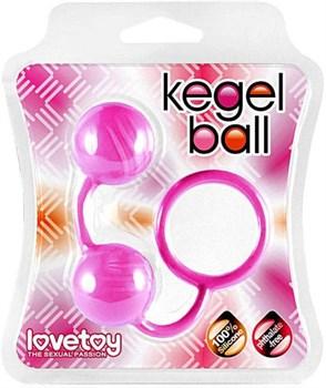 Розовые вагинальные шарики Kegel Ball