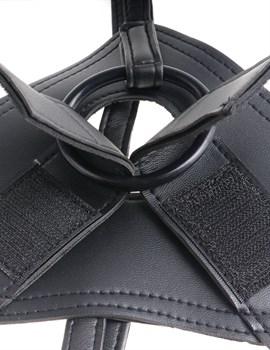 Телесный страпон на трусиках Strap-on Harness Cock - 20,3 см.