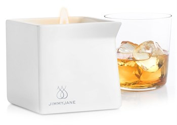 Массажная свеча JimmyJane Afterglow Massage Candle с ароматом бурбона