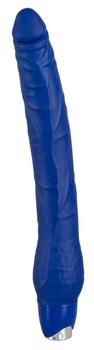 Огромный синий виброфаллос Joy - 31 см.