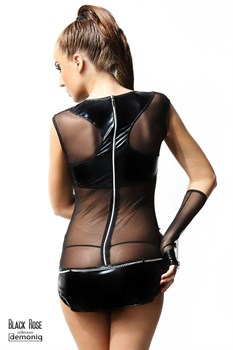 Пикантное платье Anette с цепочками