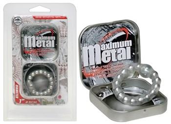 Эрекционное кольцо Maximum Metal Ring
