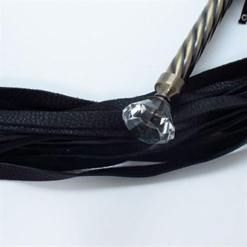 Эксклюзивная плеть с металлической ручкой
