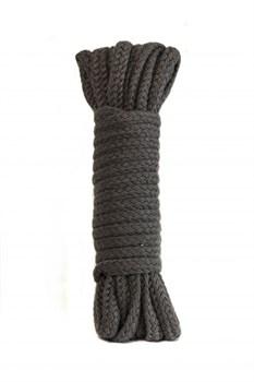 Серая веревка Bondage Collection Grey - 9 м.