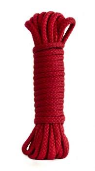 Красная веревка Bondage Collection Red - 9 м.