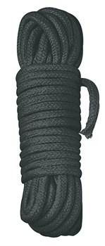 Черная веревка для бандажа - 3 м.