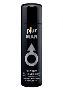 Смазка для мужчин на силиконовой основе pjur MAN Extreme Glide - 250 мл.