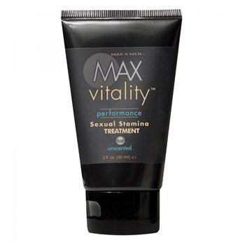 Крем для усиления потенции Max Vitality на основе травяной виагры