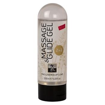 Массажное масло и лубрикант Massage    Glide Gel - 200 мл.