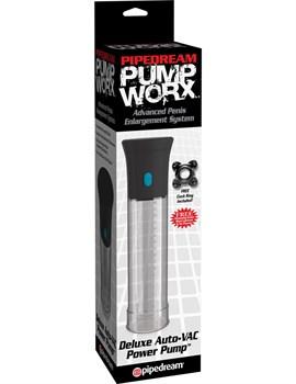Вакуумная помпа с автоматическим насосом Deluxe Auto-Vac Pump - 20,2 см.