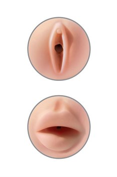 Мастурбатор вагина-ротик Pipedream Extreme Toyz Tight Grip Pussy   Mouth