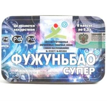 БАД для мужчин  Фужуньбао супер  - 8 капсул (0,3 гр.)