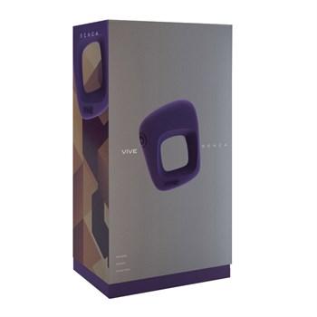 Фиолетовое эрекционное вибрирующее кольцо Senca