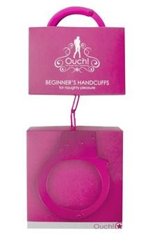 Розовые наручники OUCH! Pink