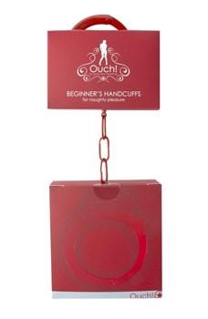 Красные наручники OUCH! Red