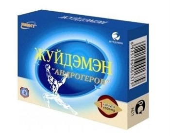 Биологически активная добавка к пище  Андрогерон  - 1 капсула (500 мг.)